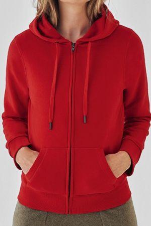 QUEEN Zipped Hood Jacket /Women