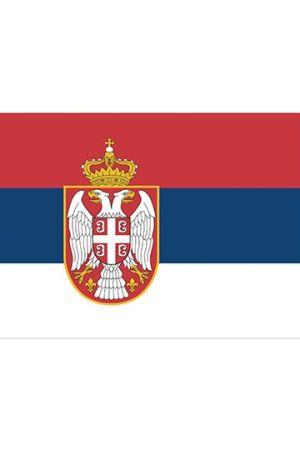 Fahne Serbien